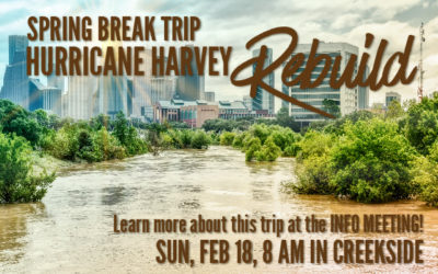 Spring Break Hurricane Harvey Rebuild